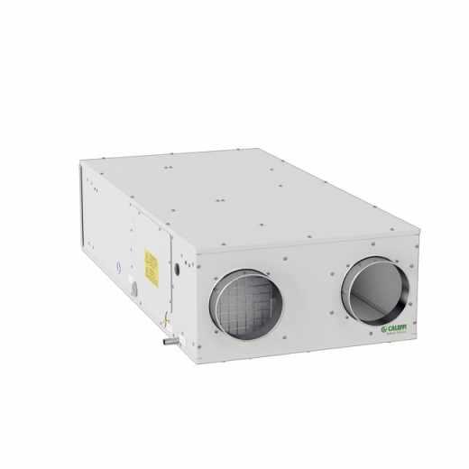 AIR111 - Unità di ventilazione meccanica orizzontale a controsoffitto con recuperatore di calore in polistirene ad alta efficienza - Qmax 250 m3/h