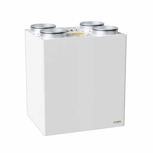 AIR112 - Unità di ventilazione meccanica verticale per installazione a parete con recuperatore di calore in polistirene ad alta efficienza - Qmax 450 m3/h