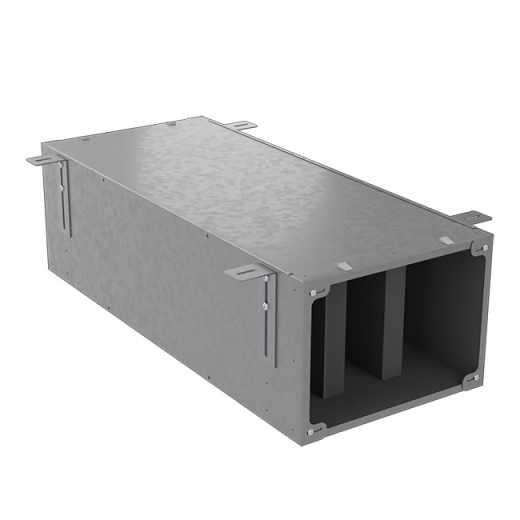 AIR400 - Plenum silenziatore collassabile componibile con portello di ispezione