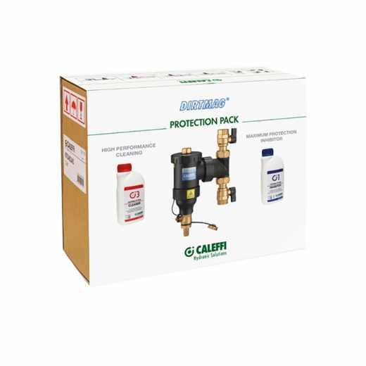 KIT5453 - Kunststof vuilafscheider DIRTMAG® met chemische additieven